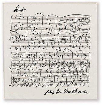 Taschentuch Beethoven Verpackungseinheit enthält 5 Tücher (Verpackungseinheit)