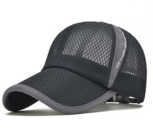 Fashion Hat Herren Mesh Verstellbare Hut Motorrad Netz Adjustable Trucker Snapback...
