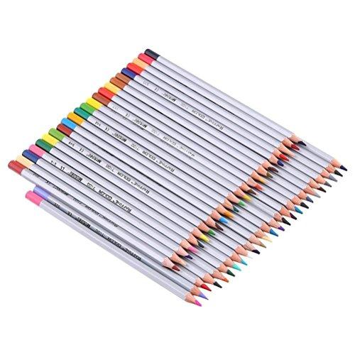 WINLINK Matite Colorate 48, Disegno Matite per disegnatore / Adult Coloring Books e Secret Garden Coloring Book, Set di 48 colori assortiti