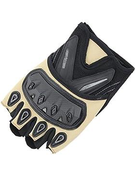 Guantes Semi-dedo Al Aire Libre Correr Cool Deportes Alpinismo Fitness Desgaste Lucha Equitación Antideslizante...