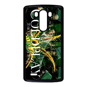 LG G3 Cell Phone Case Black Coldplay Dfibs Protective Csaes Cover