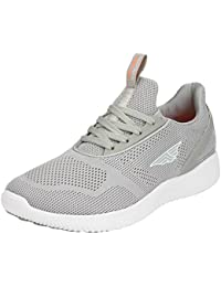 Red Tape Men's Beige Running Shoes