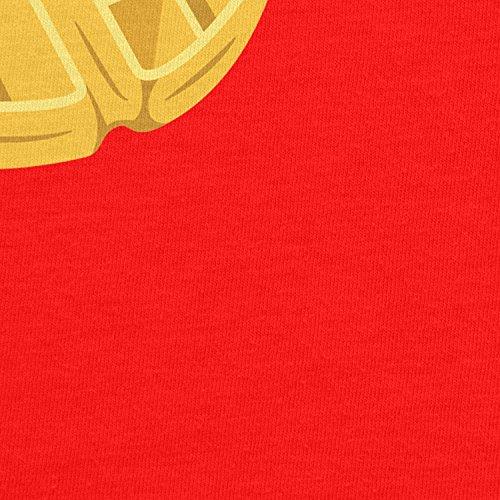 Planet Nerd Elfi's Waffles - Damen T-Shirt Rot