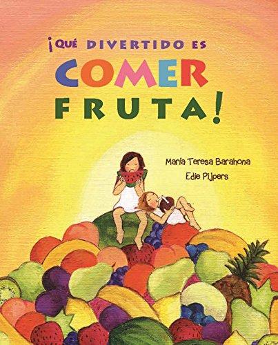 !Que divertido es comer fruta!