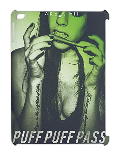 puff-puff-pass-take-a-hit-tatoo-inked-girl-rolling-blunt-smoking-ipad-air-plastic-case