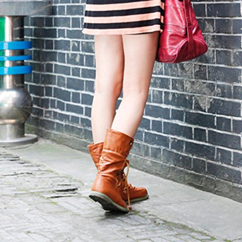 Di Caffè Moda Martin Di Stivali Casuale Benda Donna Rawdah Inverno Stivali Donne CP8qf4