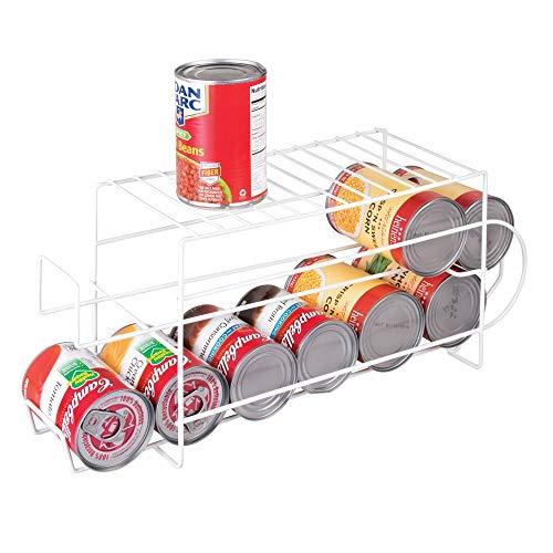 mDesign Organizador de frigorífico para alimentos – Moderno organiz