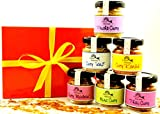 Curry - Set mit 6 verschiedenen Currymischungen in der Geschenkbox aus der Finca Marina Gewürzmanufaktur