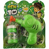 Ben 10 Bubble Gun Elephant Hand Pressing Bubble Gun Toy For Kids With Free Bubble Liquid