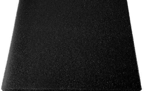 Pondlife Aquaristik Teich Filterschaum Filterschwamm schwarz, alle Größen von 50x50x2cm -100x50x10cm Größe 100x50x2cm fein 30PPI