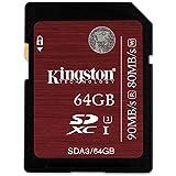 Kingston SDA3/64GB SDHC/SDXC 64GB Ultra High-Speed Class 3 Speicherkarte