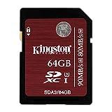 Die besten KINGSTON Kameras - Kingston SDA3/64GB SDHC/SDXC 64GB Ultra High-Speed Class 3 Bewertungen
