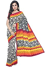 Sakhi Womens Blended Tussar Saree_IMR-1106_Multi-coloured_Free Size