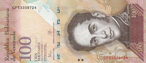Venezuela Pick-Nr: 93i bankfrisch (I) 2015 100 Bolivares Kapuzenzeisige (Banknoten für Sammler)
