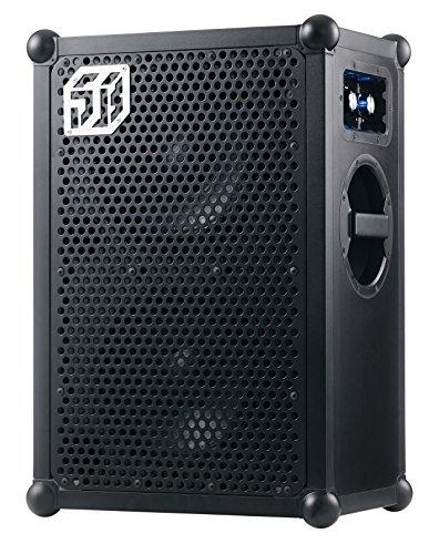 r Bluetooth Partylautsprecher (122db Lautstärke, robustes Gehäuse, 40h durschschnittliche Akkulaufzeit) - Black Edition (Durchschnittliche Wetter)