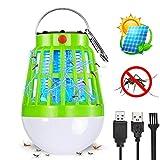 FishOaky Lampe de Camping Anti Moustique Lanterne BUG Zapper Portable Rechargeable,...