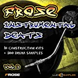 Frose Instrumental Beats Vol.3 - Campioni Hip Hop strumentali freschi   WAV Files DVD non BOX