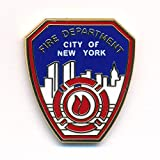 Fire Department New York FDNY Badge Emblem Pompiers Pin Badge 0088