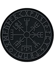 ACU Subdued Vegvisir Viking Compass Norse Rune Morale Tactical PVC Rubber Fastener Patch