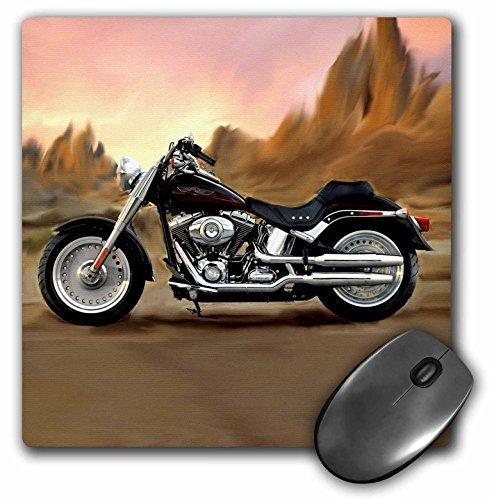 3drose LLC auf Harley-Davidson Motorrad Muster Maus Pad (MP 4841_ 1) (Heavy-duty-tisch-pad)