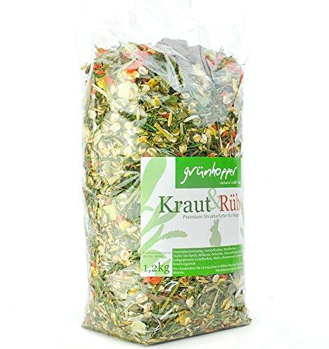 grünhopper Kraut&Rüben 1,2kg Kaninchenfutter