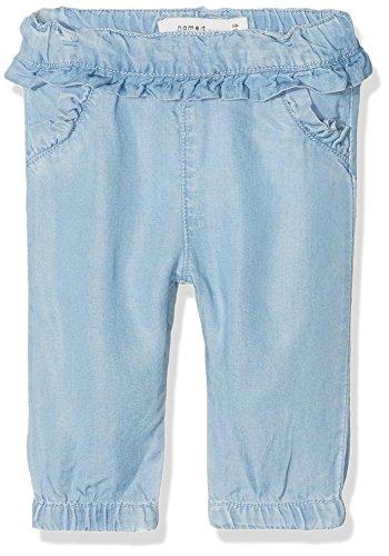 NAME IT Baby-Mädchen Jeans NBFRIE DNMBACHERRY 1053 Pant, Blau Light Blue Denim, 86
