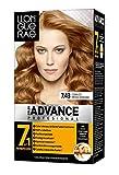 Llongueras Color Advance Hair Colour Tintura de Pelo Tono 7.43 Cobrizo Medio Dorado - 500 gr