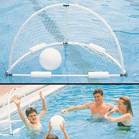 Piscina de agua Aqua Divertirse Deluxe Heavy Duty floatable Portería de waterpolo