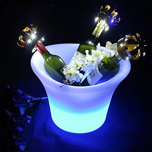 xinye Colorful CUBITERA 2 L LED plástico impermeable con mando a distancia