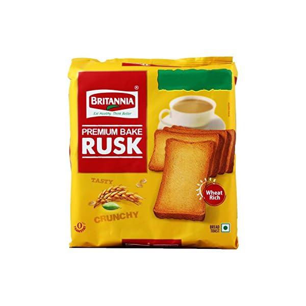 Britannia Rusk – Premium Bake, 200g Pouch