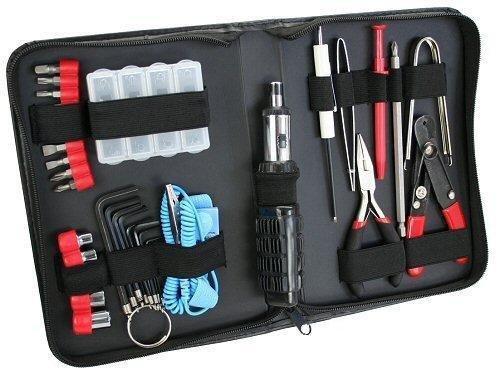 Preisvergleich Produktbild InLine 43018 Werkzeugset für Computer und Elektronik 34-teilig