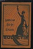 LARRESSORE / BEL-LOC / USTARITZ - BULLETIN DE L'ASSOCIATION DES ANCIENS ELEVES 1960.
