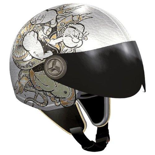 peye Motorradhelm, Mehrfarbig (Tattoo), XS ()