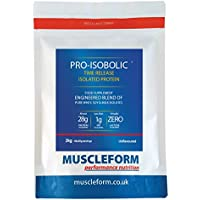 Muscleform Pro-Isobolic 'Time Release' Pure Protein Isolate 93% 2kg Re-Sealable Pouch - Fast Delivery - Unflavoured | Free Express Delivery