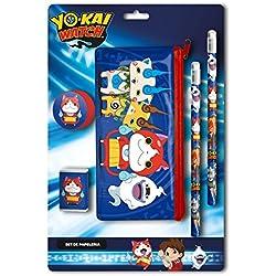 Set di papelerãa con trasporto di Yo-Kai Watch, 2/96)