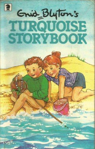 Enid Blyton's turquoise storybook