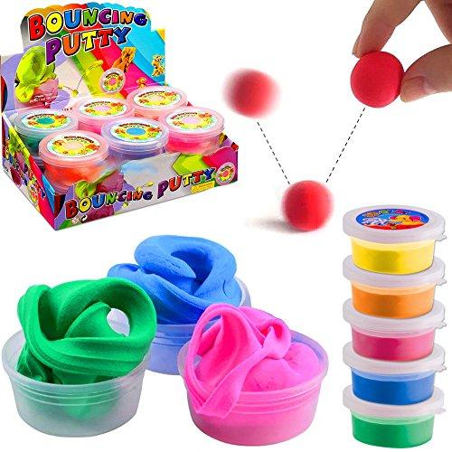 Springknete  Hüpfknete für Kinder 9