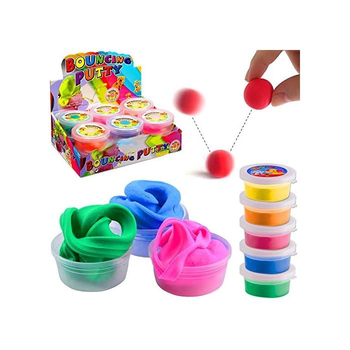 Springknete  Hüpfknete für Kinder 1