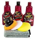 MEGUIAR'S MEGUIARS Paint Cleaner & Polish & Carnauba Wax & Pads & Mikrofasertuch