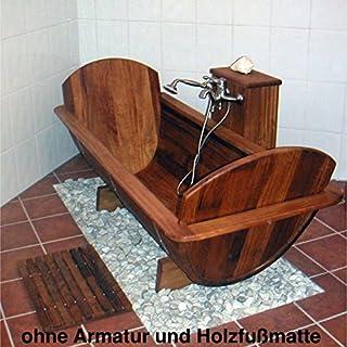 Achleitner Badewanne Holzwanne OMEGA aus Kambalaholz 451