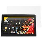 atFolix Schutzfolie für Xoro MegaPad 1403/1404 Displayschutzfolie - 2 x FX-Antireflex blendfreie Folie