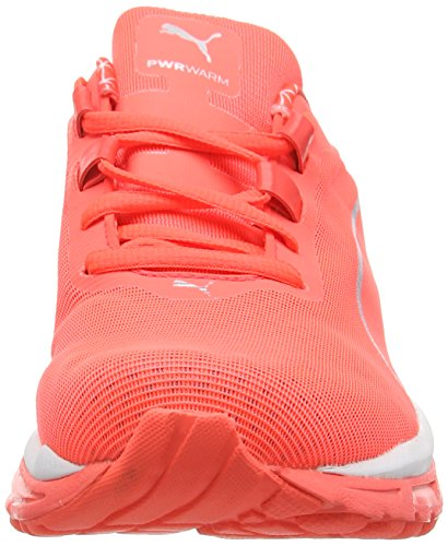 Puma Faas 600 V2 Power Warm Damen Trainieren/Laufen Purple (Fiery Coral-Fiery Coral-Fiery Coral)