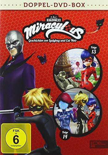 Miraculous - Geschichten von Ladybug und Cat Noir - Doppel-DVD-Box (Folgen 13 + 14)