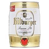Bitburger 2x de cerveza de barril de 5l lata