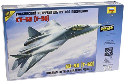 f4b2af5ef4296 Zvezda - Z7275 - Maquette - Sukhoï T-50 - Echelle 1:72