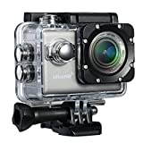 4K Action Kamera, TopElek 2.0 Zoll Wifi Actioncam Helmkamera Ultra Full HD Sports Kamera 170°...