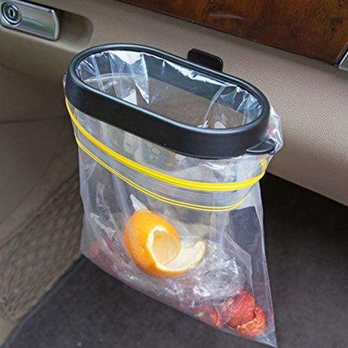 Pliable voiture organisateur cadre poubelle automatique voiture accessoires voiture déchets déchets détritus