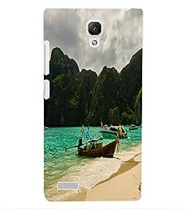 ColourCraft Beautiful Scenery Design Back Case Cover for XIAOMI REDMI NOTE 4G