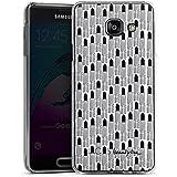 Samsung Galaxy A3 (2016) Housse Étui Protection Coque Rouge à lèvres Noir Rouges à lèvres