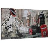 Cuadros en Lienzo 120 x 80 cm Nr. 5176 Londres enmarcado y listo para colgar, calidad de la marca Visario